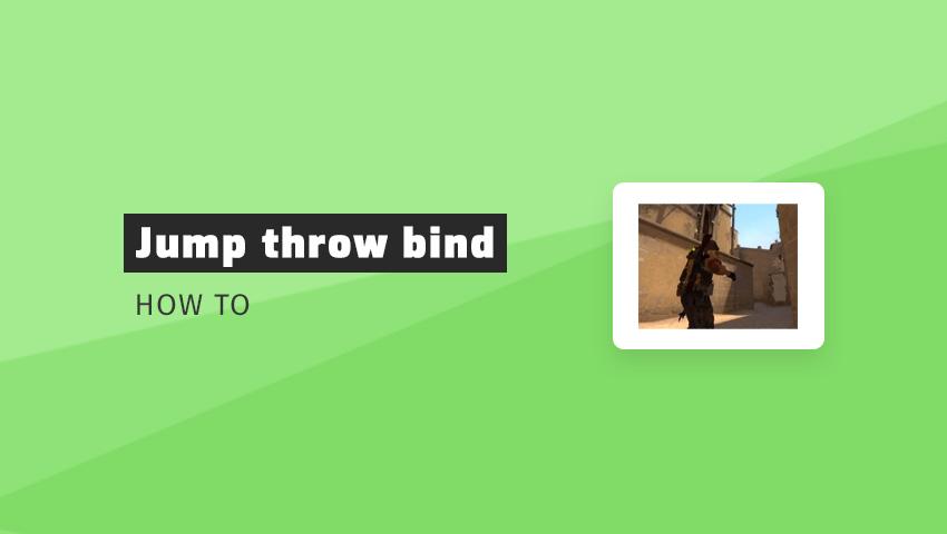 How to add jump throw bind in CS:GO | CSGO-tutorial com