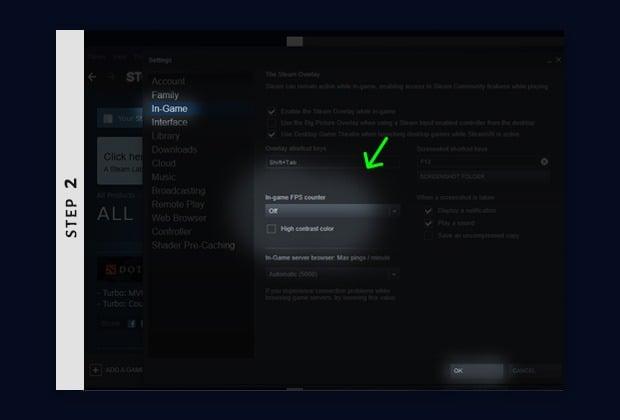 activate cs:go fps counter