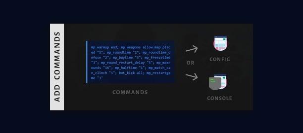 csgo 1v1 commands